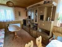 obývací pokoj - chata k pronajmutí Čeladná