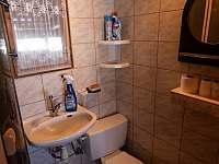 koupelna - pronájem chaty Nový Hrozenkov