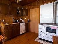 kuchyně - chata ubytování Nový Hrozenkov