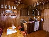 kuchyně - chata k pronajmutí Nový Hrozenkov