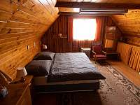 ložnice 1 - pronájem chaty Nový Hrozenkov