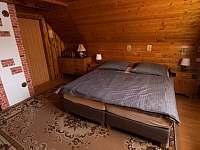 ložnice 1 - chata k pronajmutí Nový Hrozenkov
