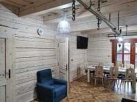 Obývací pokoj II. - chalupa ubytování Nový Hrozenkov