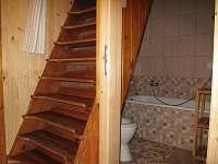 Koupelna a vstup do podkroví