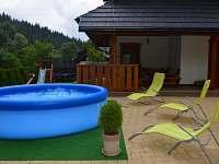 Bazén pro děti - chalupa k pronajmutí Velké Karlovice