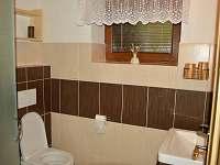 Koupelna v přízemí - Velké Karlovice