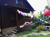 Oslavy na chatě na horách