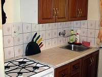 Plně vybavená kuchyně - chata k pronajmutí Trojanovice