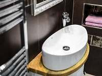 """Apartmán """"Malý princ"""" koupelna 2 - pronájem rekreačního domu Dolní Lomná"""