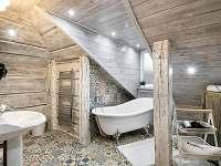 """Apartmán """"Nebe"""" koupelna - Dolní Lomná"""