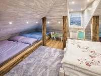 """Apartmán """"Nebe"""" ložnice a možnost přistýlek - Dolní Lomná"""