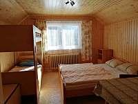Ložnice - chalupa k pronájmu Velké Karlovice