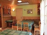 Chata Sluníčko - jídelna 2