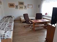 malý apartmán_obývák - chalupa k pronájmu Hutisko Solanec