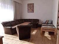velký apartmán_obývák - pronájem chalupy Hutisko Solanec