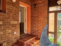 vstup do velkého apartmánu - chalupa ubytování Hutisko Solanec