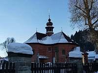 Karlovský kostel - apartmán k pronájmu Velké Karlovice