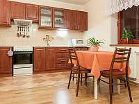 Kuchyně - pronájem apartmánu Velké Karlovice
