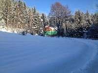 cesta k chatě - k pronájmu Horní Bečva