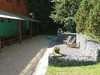 odpočinek u chaty - pronájem Horní Bečva
