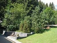 venkovní pohled od chaty - Horní Bečva