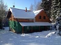 zima u nás - chata ubytování Horní Bečva