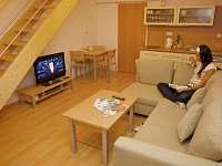 apartmán obývací pokoj s kuchyňkou