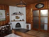Apartmán v domě majitelů velký pokoj - chata k pronájmu Lužná u Vsetína