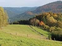 Grunt Vráblenka pastviny u Gruntu - Lužná u Vsetína