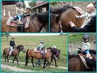 Nejmladší jezdec - čtrnáct měsíců - Lužná u Vsetína