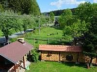 zahrada - chalupa ubytování Nový Hrozenkov