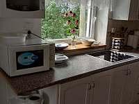 kuchyň - chata k pronajmutí Kunčice pod Ondřejníkem