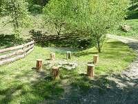 Ohniště u rybníčku - chalupa ubytování Huslenky