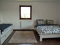 pokoj 2 - ubytování Závišice