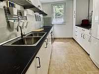 Nová kuchyně s myčkou nádobí (2020) - chata k pronájmu Trojanovice - Raztoka