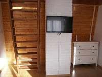 Obývák a mlynářské schody