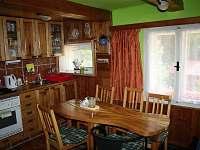 Kuchyň - chalupa k pronajmutí Staré Hamry