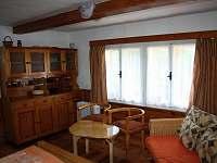 Obývací ložnice - pronájem chalupy Staré Hamry