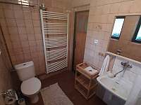 U Milušky - koupelna - chalupa k pronájmu Velké Karlovice