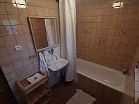 U Milušky - koupelna - chalupa k pronajmutí Velké Karlovice