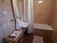 U Milušky - koupelna - chalupa ubytování Velké Karlovice