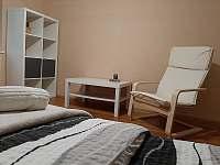 U Milušky - ložnice 3 - chalupa k pronajmutí Velké Karlovice