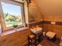 koupelna s wc k pokoji č.1 - chalupa k pronajmutí Kunčice pod Ondřejníkem
