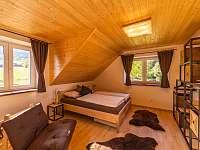 pokoj č.2 s maželskou postelí a přistýlkou - pronájem chalupy Kunčice pod Ondřejníkem
