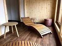 relaxační místnost - chalupa k pronájmu Kunčice pod Ondřejníkem