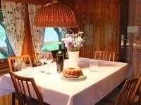 Jídelna - chata k pronajmutí Frýdlant nad Ostravicí