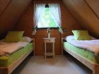 Zelená ložnice - chata k pronájmu Frýdlant nad Ostravicí
