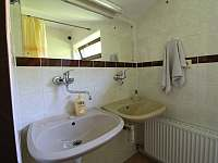 Koupelna 2 - pronájem chaty Valašské Klobouky