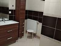 Chata ALDI, koupelna - k pronájmu Prostřední Bečva