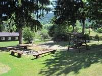 Ohniště - chalupa ubytování Horní Bečva